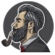 Free Download Man Style Barbershop Logo Nulled