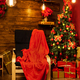 Cozy blanket waiting for Santa to come and leave his presents - PhotoDune Item for Sale