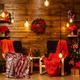Christmas home design with beautiful christmas tree - PhotoDune Item for Sale