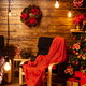 Christmas atmosphere in such a beautiful house design - PhotoDune Item for Sale