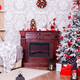 Beautiful Christmas living room with decorated Christmas tree - PhotoDune Item for Sale