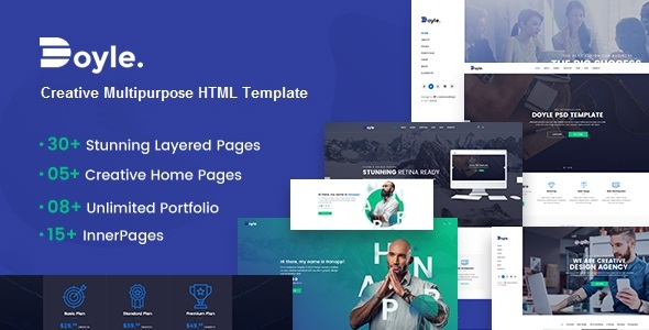 Doyle - Creative Multipurpose HTML Template