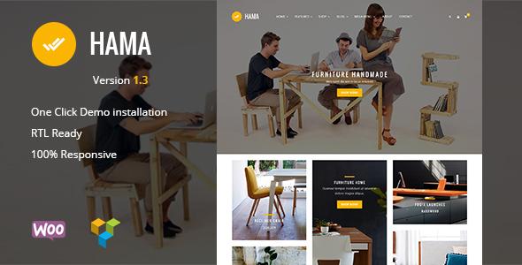 Hama - Store WooCommerce WordPress Theme - WooCommerce eCommerce
