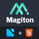 Magiton - Business  Multipage HTML5 Template - ThemeForest Item for Sale