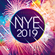 NYE 2019 Photoshop Flyer Template - GraphicRiver Item for Sale