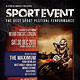 Sport Event Flyer / Poster - GraphicRiver Item for Sale