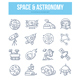 Space & Astronomy Doodle Concept - GraphicRiver Item for Sale