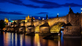Charles bridge at dusk - PhotoDune Item for Sale
