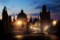 Illumination on Charles bridge - PhotoDune Item for Sale