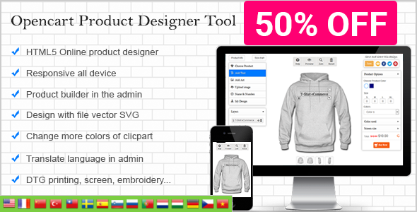 WooCommerce Custom Product Designer Nulled