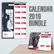 Calendar 2019 Bundle 6 - GraphicRiver Item for Sale
