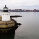 Portland Breakwater Lighthouse Bug Light Leads Mariners into Harbor - PhotoDune Item for Sale