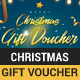Christmas and New year gift voucher - GraphicRiver Item for Sale