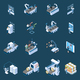 Smart Industry Isometric Icons - GraphicRiver Item for Sale