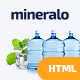 Mineralo - Bottled Water Delivery Service For Home & Office HTML Template - ThemeForest Item for Sale