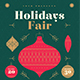 Holidays Fair Flyer - GraphicRiver Item for Sale