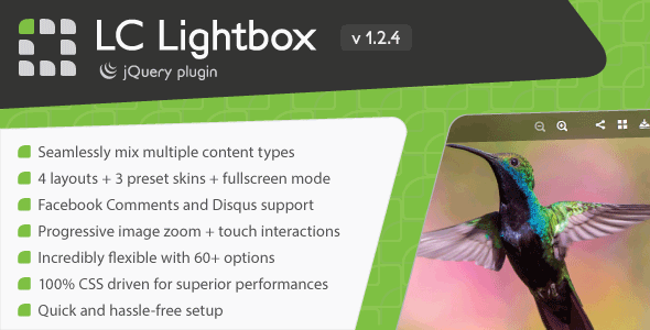 LC Lightbox - Premium jQuery Plugin - CodeCanyon Item for Sale