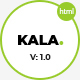 Kala | Minimal Multipurpose HTML5 Template - ThemeForest Item for Sale