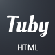 Tuby - YouTube Vlog Landing Page Template - ThemeForest Item for Sale