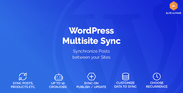 Wordpress Multisite Sync - CodeCanyon Item for Sale