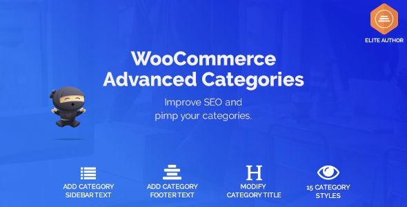 WooCommerce Advanced SEO Categories - CodeCanyon Item for Sale