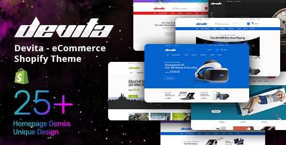 Devita - eCommerce Shopify Theme - Shopping Shopify