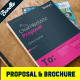 Brochure and Annual Report Indesign Bundle - GraphicRiver Item for Sale