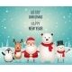 Merry Christmas New Year Companions - GraphicRiver Item for Sale