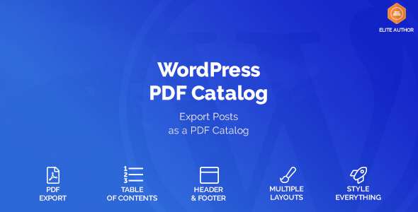 WordPress Blog to PDF - CodeCanyon Item for Sale