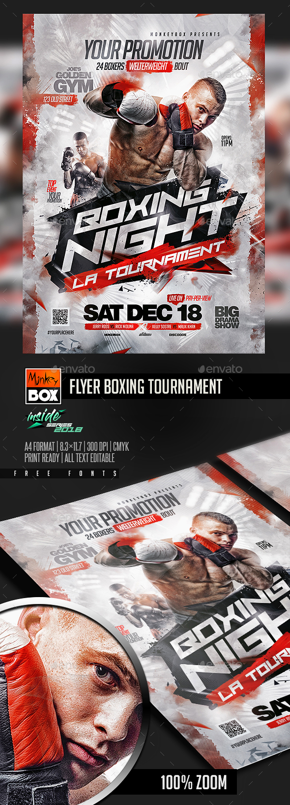 Flyer Boxing Tournament