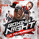 Flyer Boxing Tournament - GraphicRiver Item for Sale