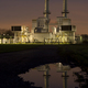 Gas Compressor Station At Night - PhotoDune Item for Sale