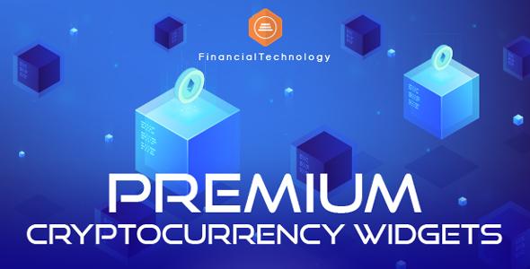 Premium Cryptocurrency Widgets | JavaScript Crypto Plugin - CodeCanyon Item for Sale