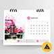 Clean Desk Calender 2019 - GraphicRiver Item for Sale