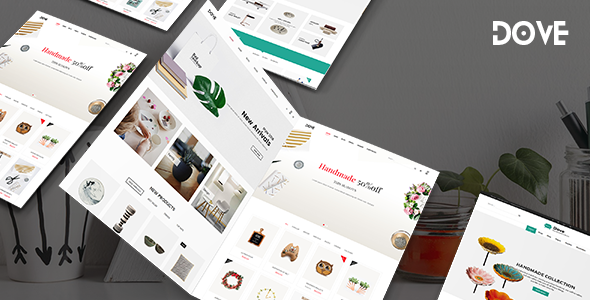 Dove - Handmade Crafts WooCommerce WordPress Theme - WooCommerce eCommerce