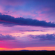 Sunset Sky With Multicolor Clouds - PhotoDune Item for Sale