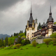 Peles Castle  in the Carpathian Mountains, Romania - PhotoDune Item for Sale