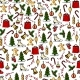 Colorful Christmas Seamless Pattern - GraphicRiver Item for Sale
