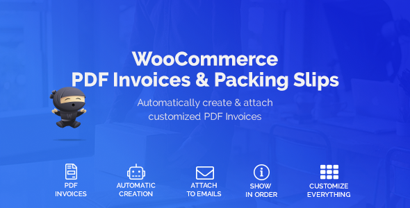 WooCommerce PDF Invoices & Packing Slips - CodeCanyon Item for Sale