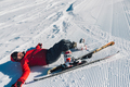competitor fell while skiing - PhotoDune Item for Sale