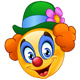 Clown Emoticon - GraphicRiver Item for Sale