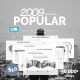 Popular Clean Keynote Template - GraphicRiver Item for Sale