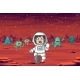 Astronaut and Monsters - GraphicRiver Item for Sale