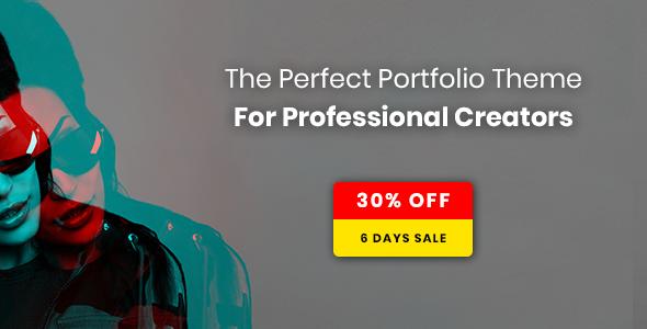Wythe - Creative Portfolio Theme - Portfolio Creative