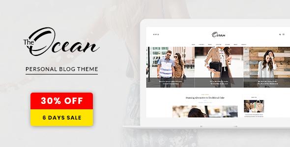 Ocean - Exquisite WordPress Blog - Personal Blog / Magazine