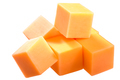 Cheddar cheese cubes, pile, paths - PhotoDune Item for Sale