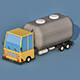 Cartoon Water Truck - 3DOcean Item for Sale