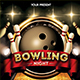 Bowling Night Flyer Template - GraphicRiver Item for Sale