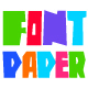 Paper Font Cut Letters - GraphicRiver Item for Sale