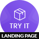 Tryit - Product Offer Landing Page HTML Template - ThemeForest Item for Sale